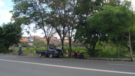 By Main Road Land At Denpasar