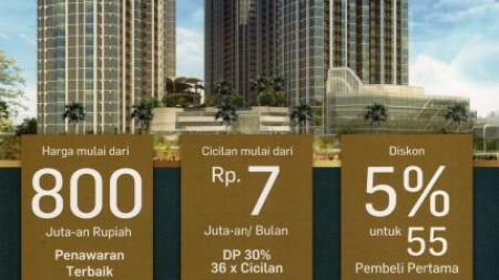 Dijual Arandra Residence Apartment - Lokasi JAKARTA PUSAT