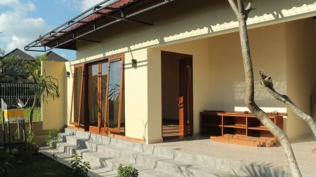 Just 5 Minute from Ubud Center Brand New 1 Bedroom Villa for Rent with Beautiful Rice Field View