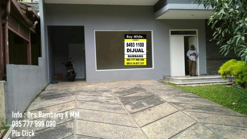 Dijual Rumah Mimimalis Mewah Besar Bangun Sendiri Cul Desac