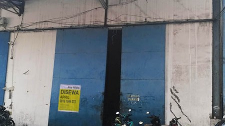 Gudang di Sewa Ada 2 Ex Gudang Sanyo Jl Yos Sudarso, Luas @500m2