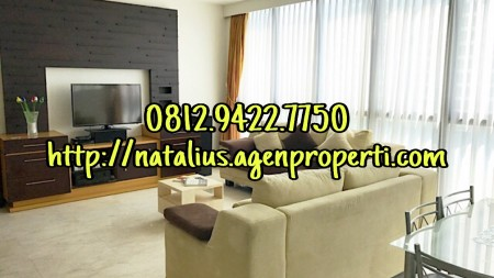 Apartemen Setiabudi Residence 2 BR Fully Furnished Unit Corner & View Bagus