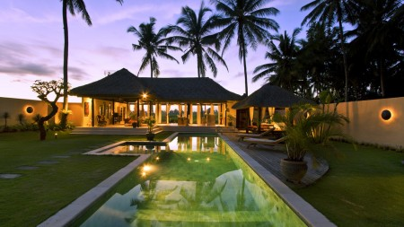 Amazing 2 Bedroom Villa on 750 sq m of Leasehold Villa with Panoramic Rice Field and Sunset View For Sale 10 Minute from Ubud Center