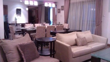 For Rent Pavilion Apartment Sudirman 3Br with Furnished