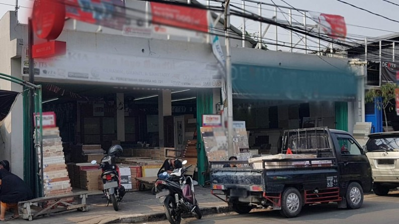 Ruko Dijual Percetakan Negara Salemba Jakarta Pusat