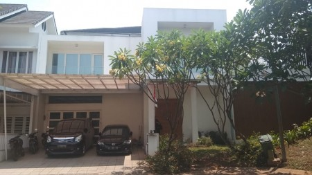 Rumah Dijual Cepat di Bintaro Emerald View Sektor 9 ada Kolam Renang