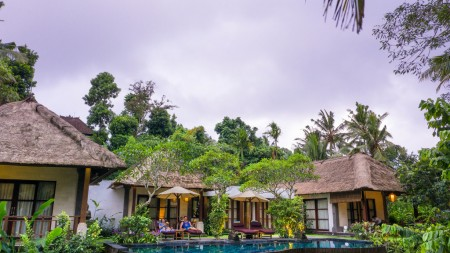 Amazing 3 Bedroom Villa on 1510 sq m of Freehold with Stunning Valley and Jungle Views 15 Minutes from Ubud Center