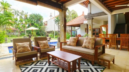 3 Bedrooms Villa For Rent Close To Canggu Just Walking Distance To The Beach
