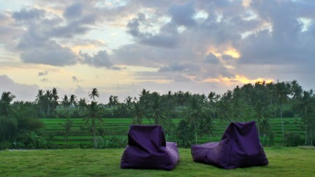 525sq m of Freehold Land with Stunning Rice Field Views for Sale 15 Minutes from Ubud