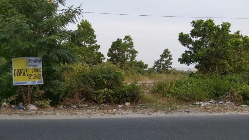 Disewakan Tanah Uk +/- 25 m x 50 m, Jl. Soekarno Hatta