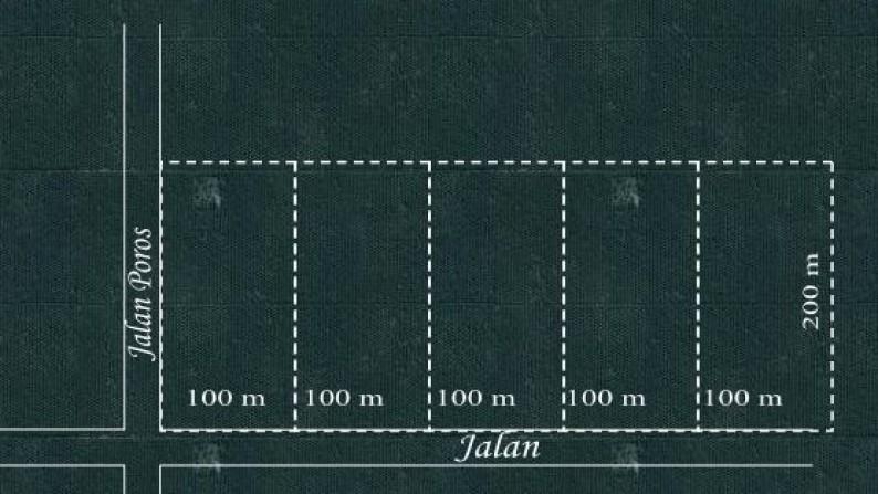 Dijual Lahan Sawit, 500 m x 200 m, Garuda Sakti