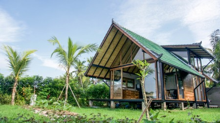 Cozy 2 Bedroom Leasehold Villa with Rice Field Views for Sale 7 Minutes from Ubud Center