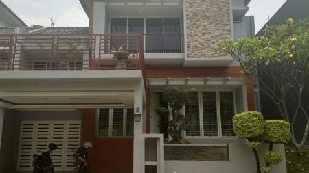Rumah Siap Huni di kawasan Cluster Kebayoran Residence, Bintaro