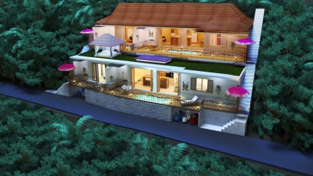 A 2 Bedroom Leasehold Villa with Jungle Views for Sale 7 Minutes from Ubud Center
