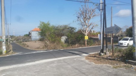 Land for sale in main road Goa Gong and close to GWK Bali