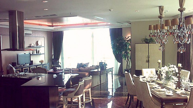 Apartment 3BR, Fully Furnished di Bellagio Mansion, Jakarta