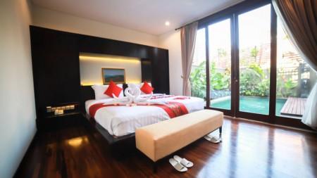 Modern Balinese Style Villa Hak Milik In Canggu