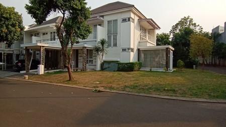 Disewakan Rumah Hoek Cantik di cluster dalam perumahan Kota Wisata