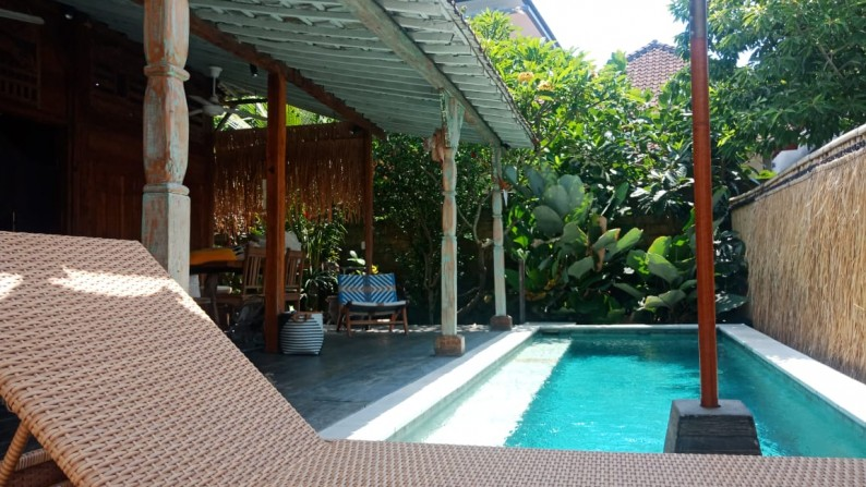 Wooden House for sale In Prime Location Canggu