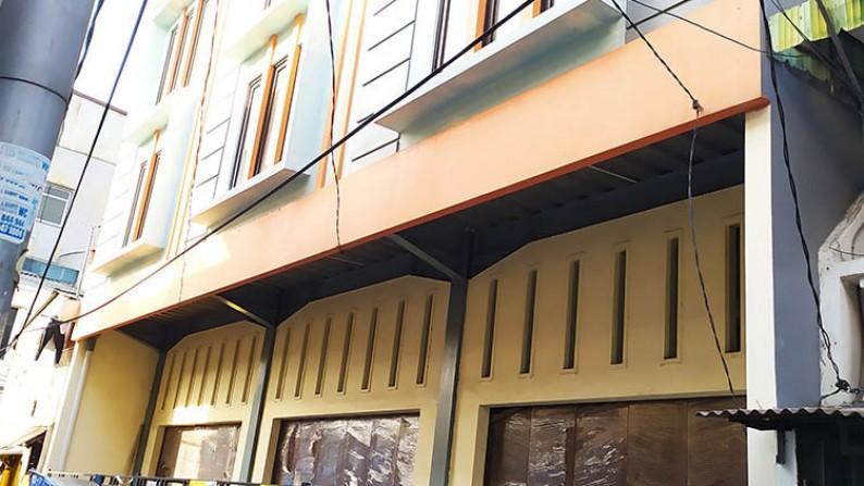 Ruko ada 3 Unit Dijual & Sewa Jl Pademangan @4,25x15m2