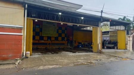 Disewakan Tempat Cucian Mobil Motor Jl Persahabatan Rawamangun